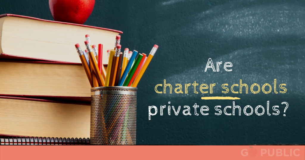 Are charter schools private schools?